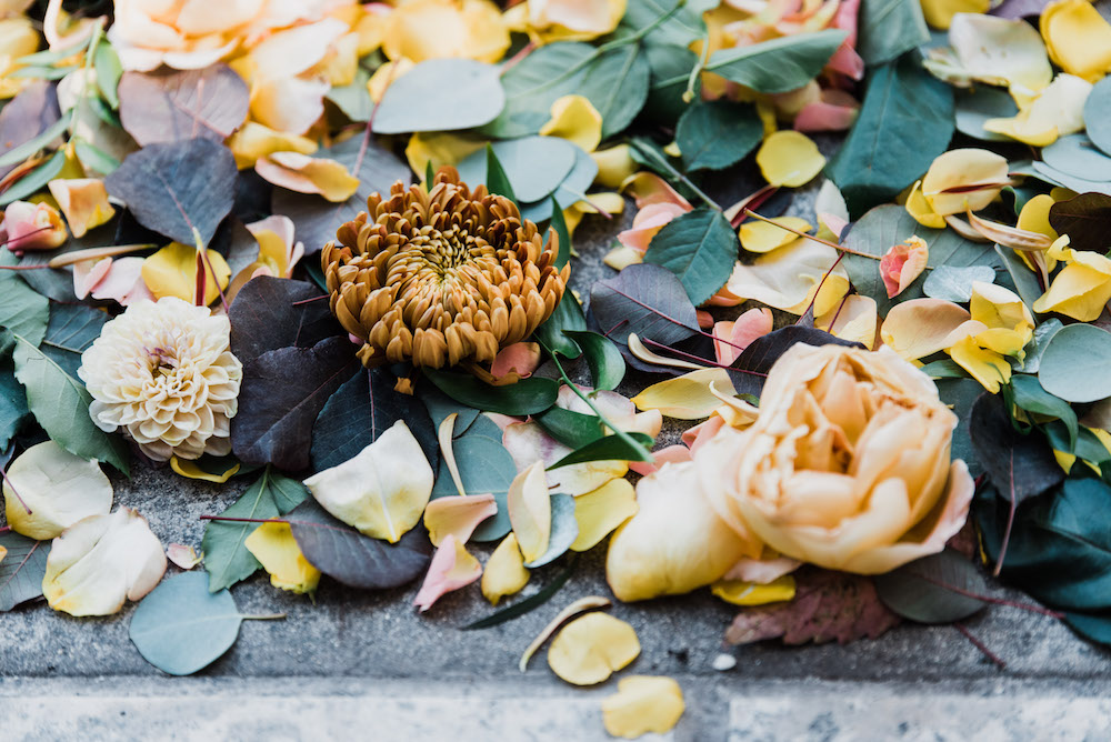 Fall Wedding Flowers - Winnipeg Wedding Florist