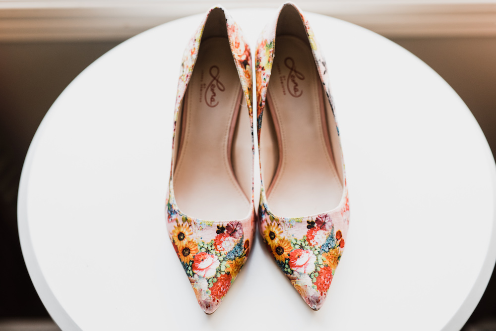 Colourful Wedding Shoes - Wedding Ideas