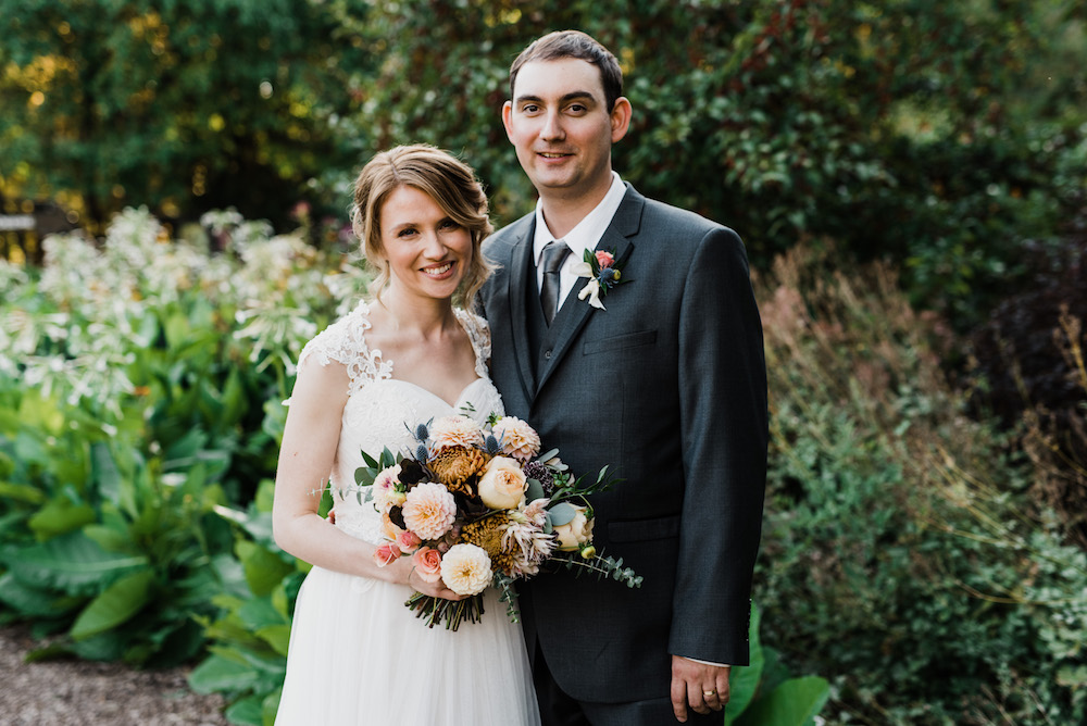 Fall Wedding in Winnipeg - Winnipeg Wedding Florist
