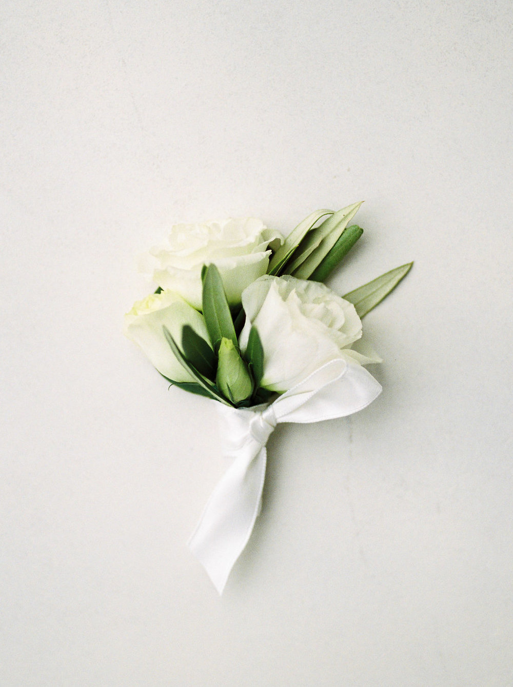 Lisianthus Boutonniere - Wedding Florist in Winnipeg