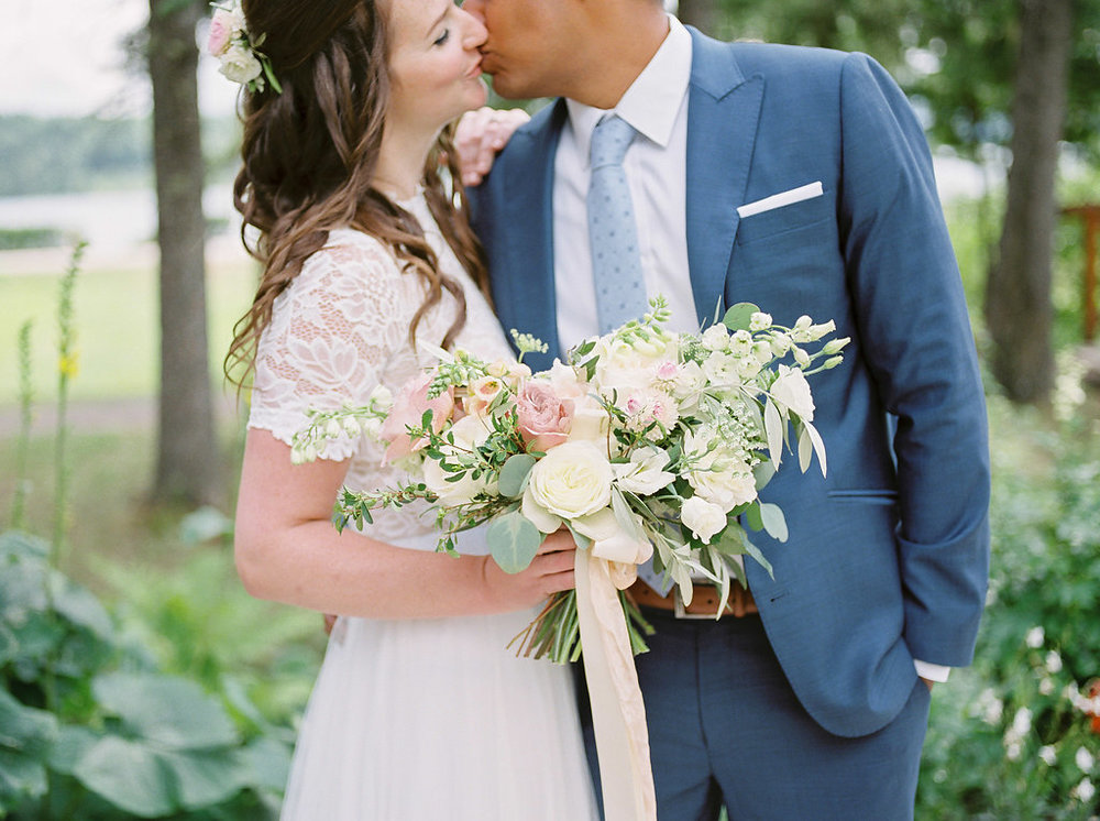 Blush and Blue Wedding Ideas - Winnipeg Weddings