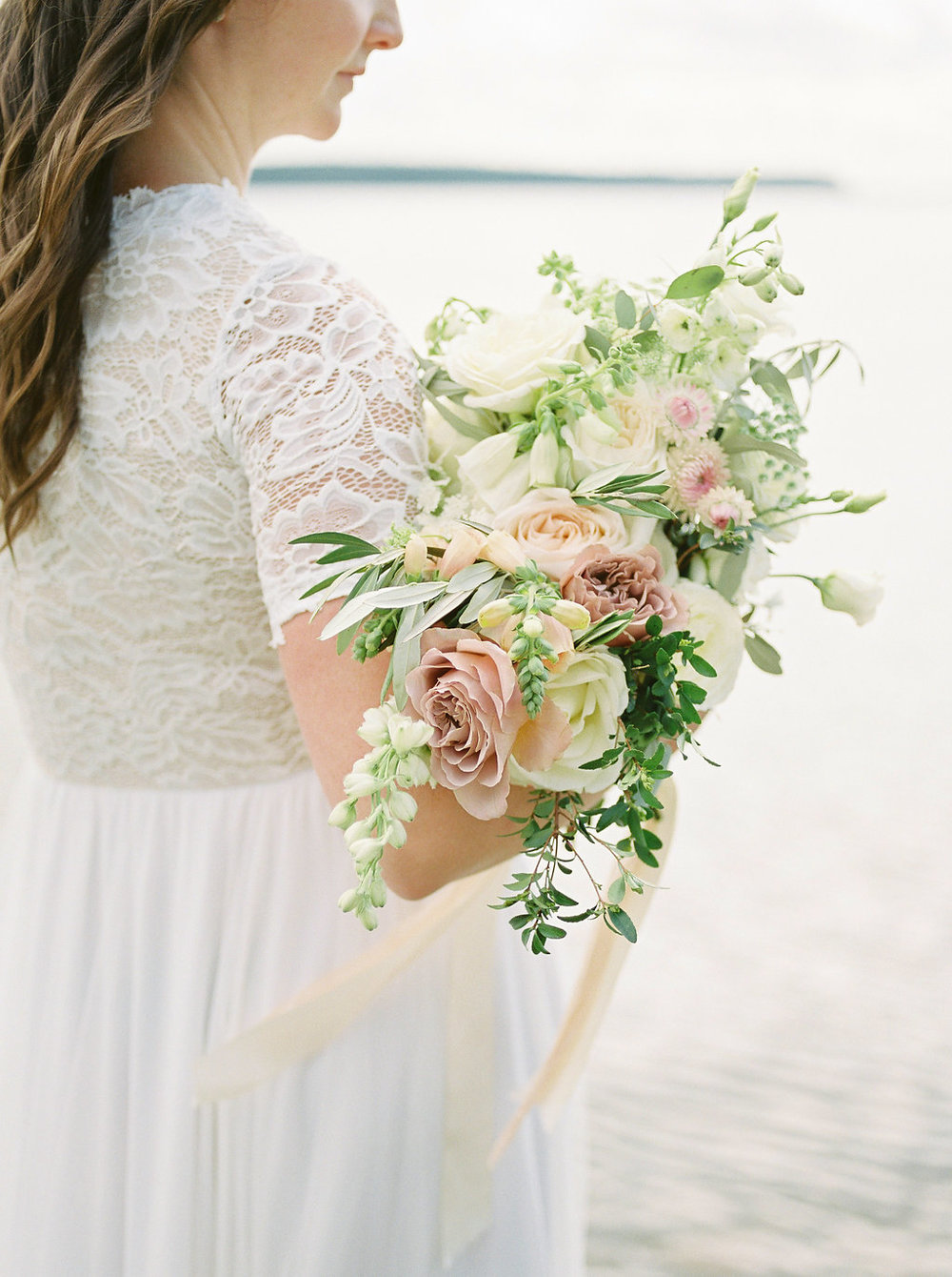 Clear Lake Beach Wedding - Stone House Creative