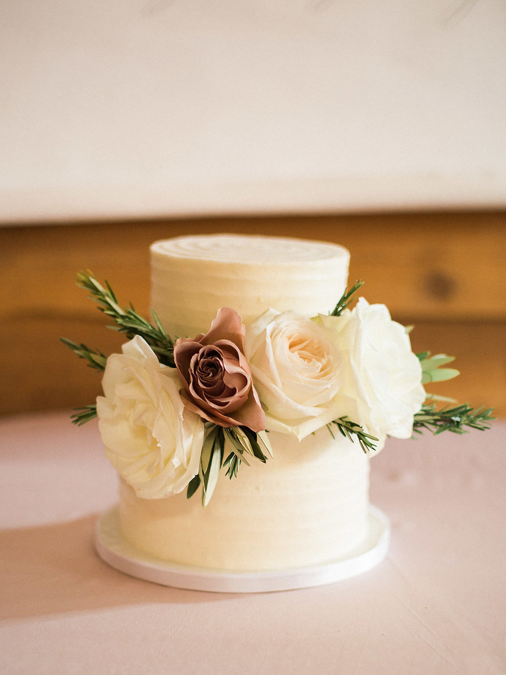 Floral Wedding Cake - Winnipeg Wedding Florists
