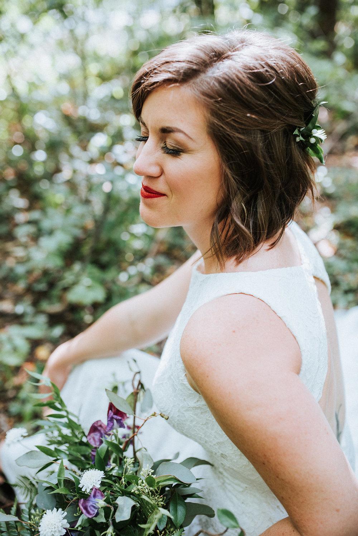 Forest Inspired Wedding - Wedding Flowers Winnipeg