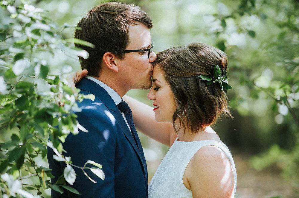 Greenery Hairpiece - Wedding Hair Ideas