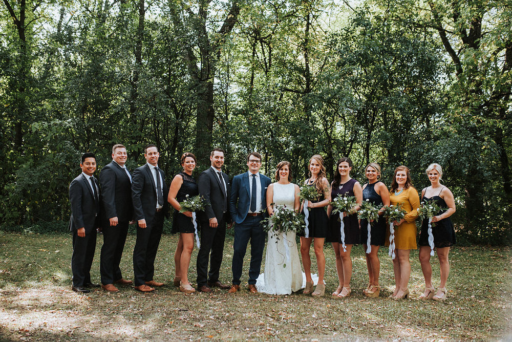 Navy and Mustard Wedding - Winnipeg Weddings