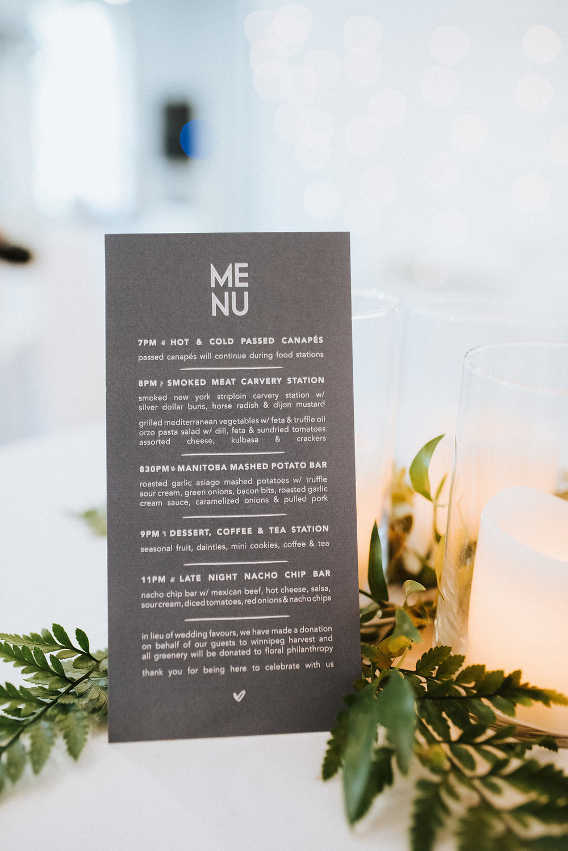 Modern Wedding Stationery - Winnipeg Wedding Florist