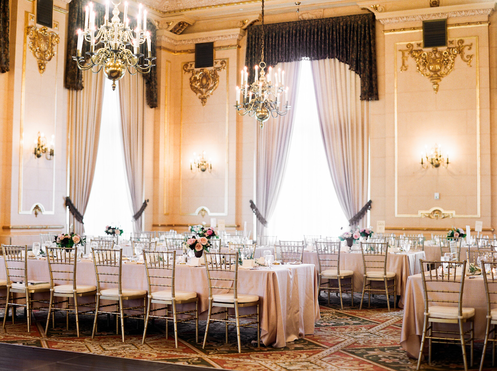Fort Garry Hotel Provencher Room Wedding - Stone House Creative