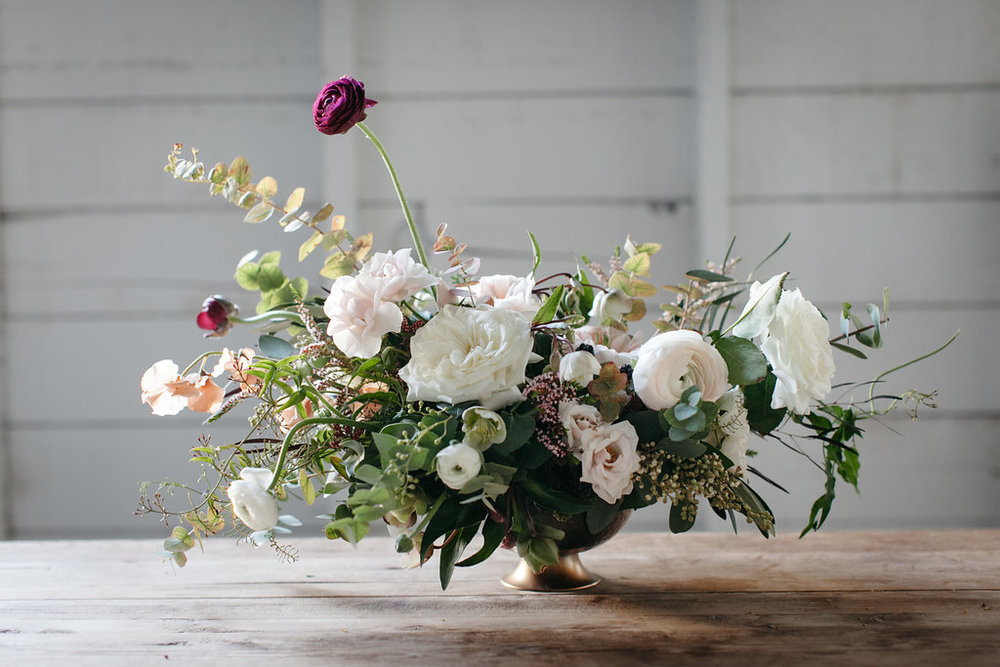 Lush Garden Inspired Wedding Flowers - Wedding Florist Winnipeg