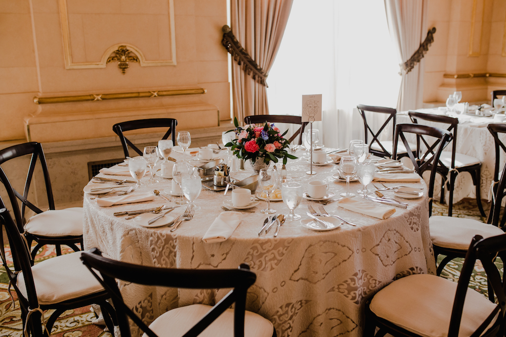 Fort Garry Hotel Provencher Room - Wedding Flowers winnipeg