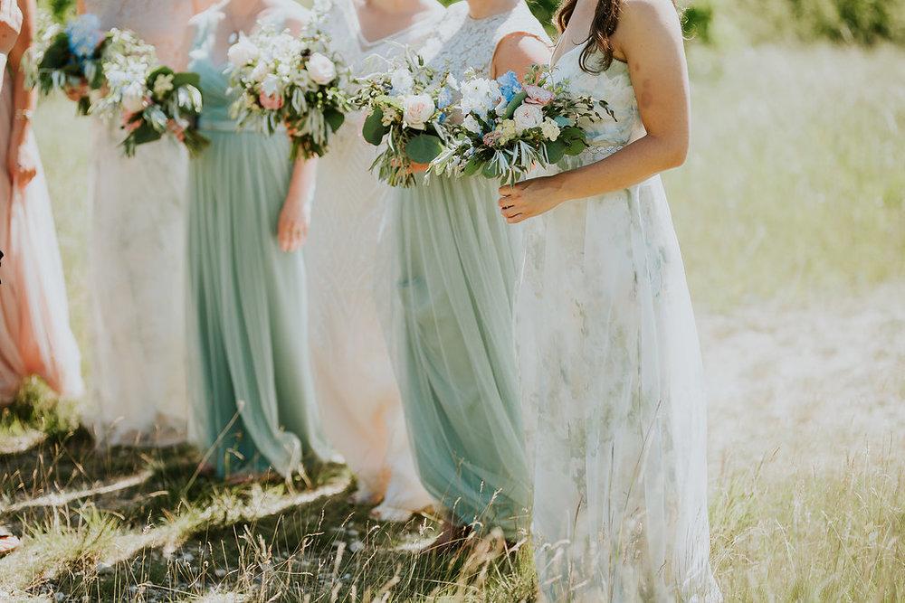 Summer Wedding Bouquets - Wedding Florists in Winnipeg