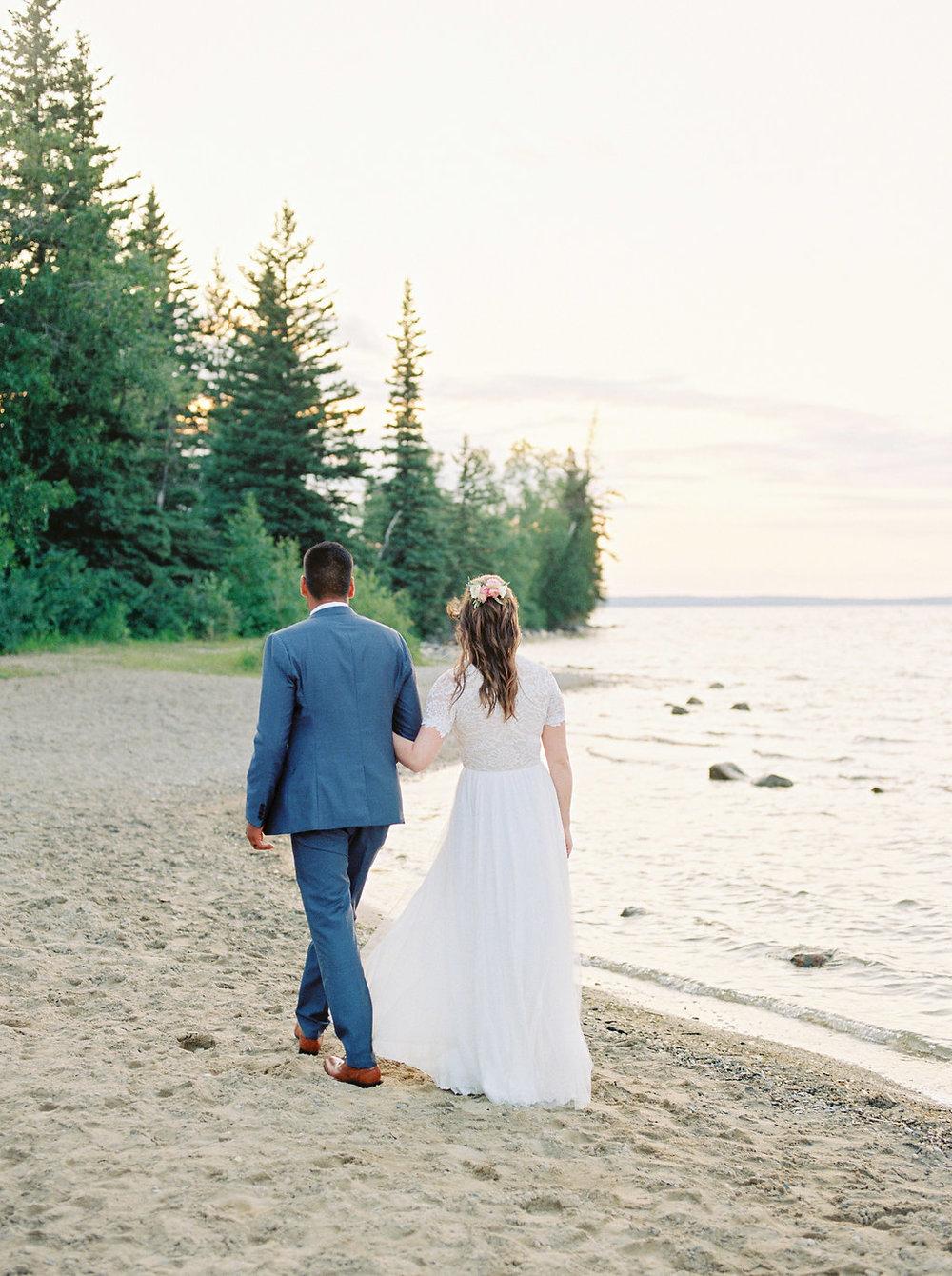 Clear Lake Wedding - Best Wedding Locations Manitoba