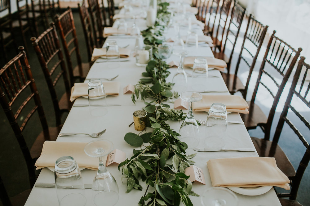 GArland Wedding Centrepieces - Wedding Florists Winnipeg