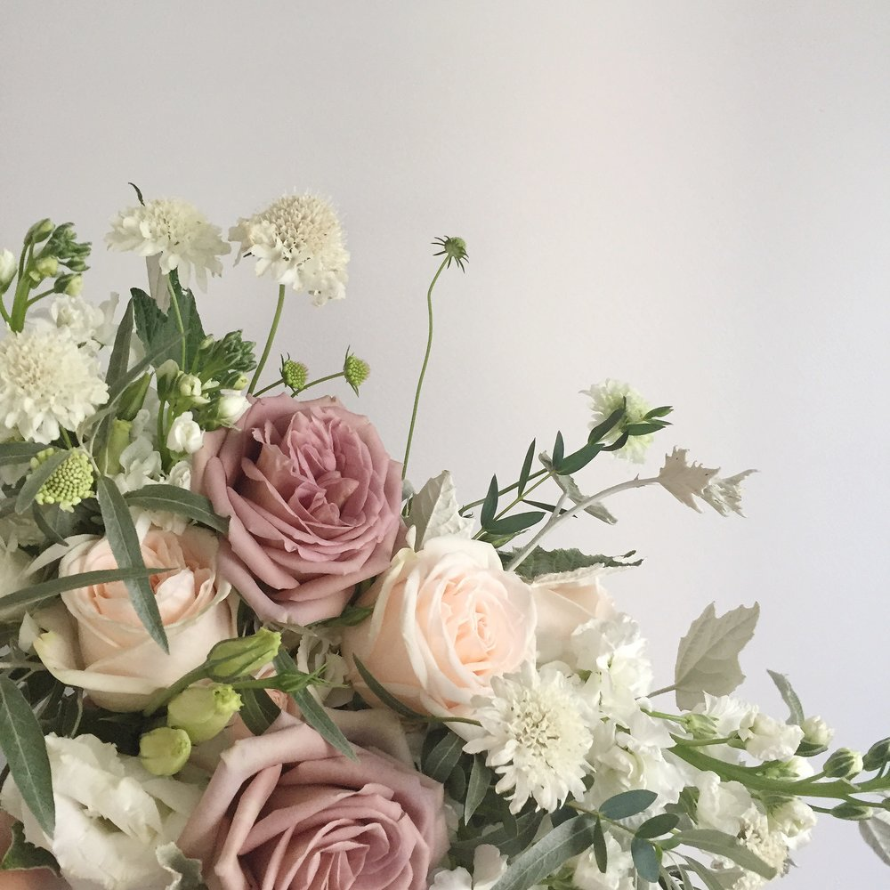 Mauve Wedding Flowers - 2018 Wedding Trends