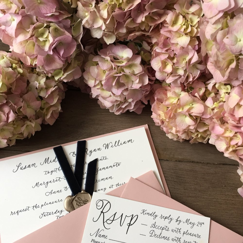 Antique Hydrangea - Wedding Flower Trends 2018