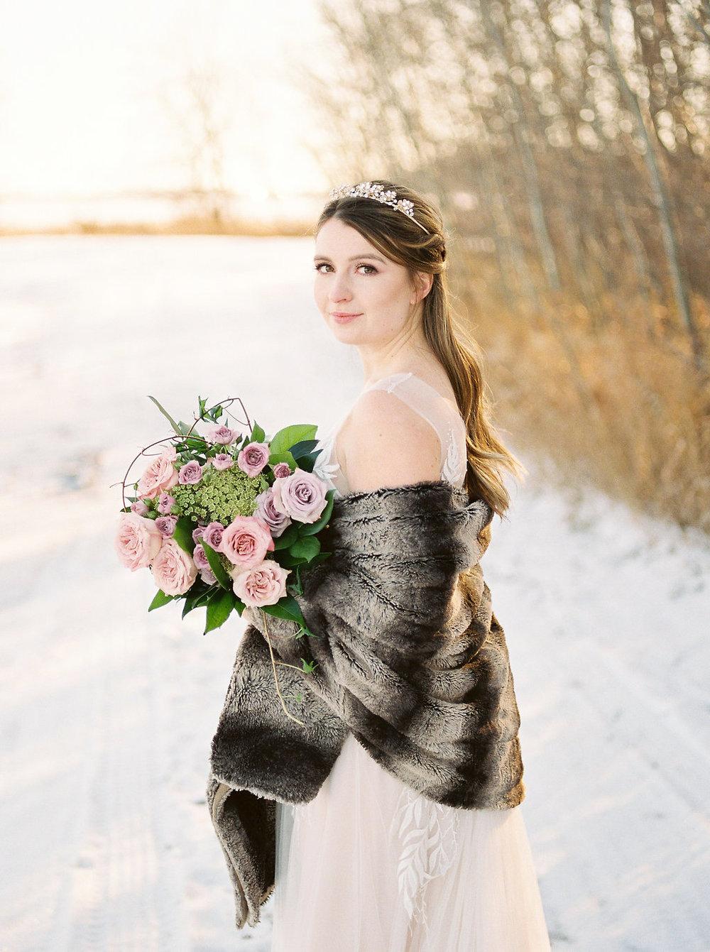 Winter Weddings Winnipeg - Stone House Creative Florist