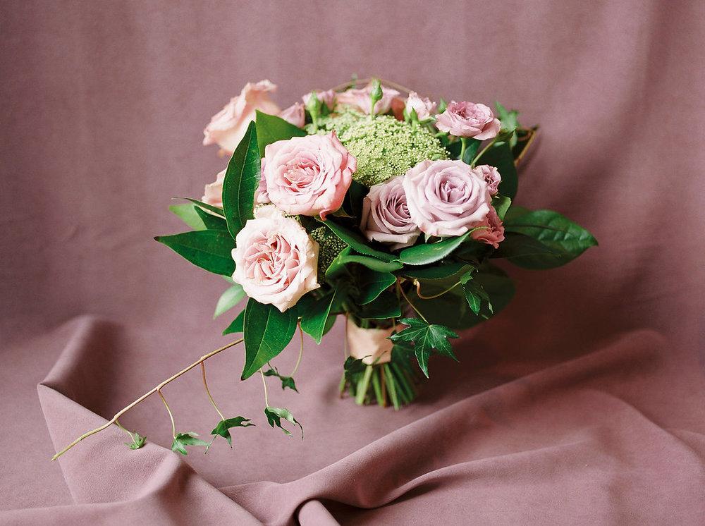 Pastel Bridal Bouquet - Garden Inspired Wedding Flowers