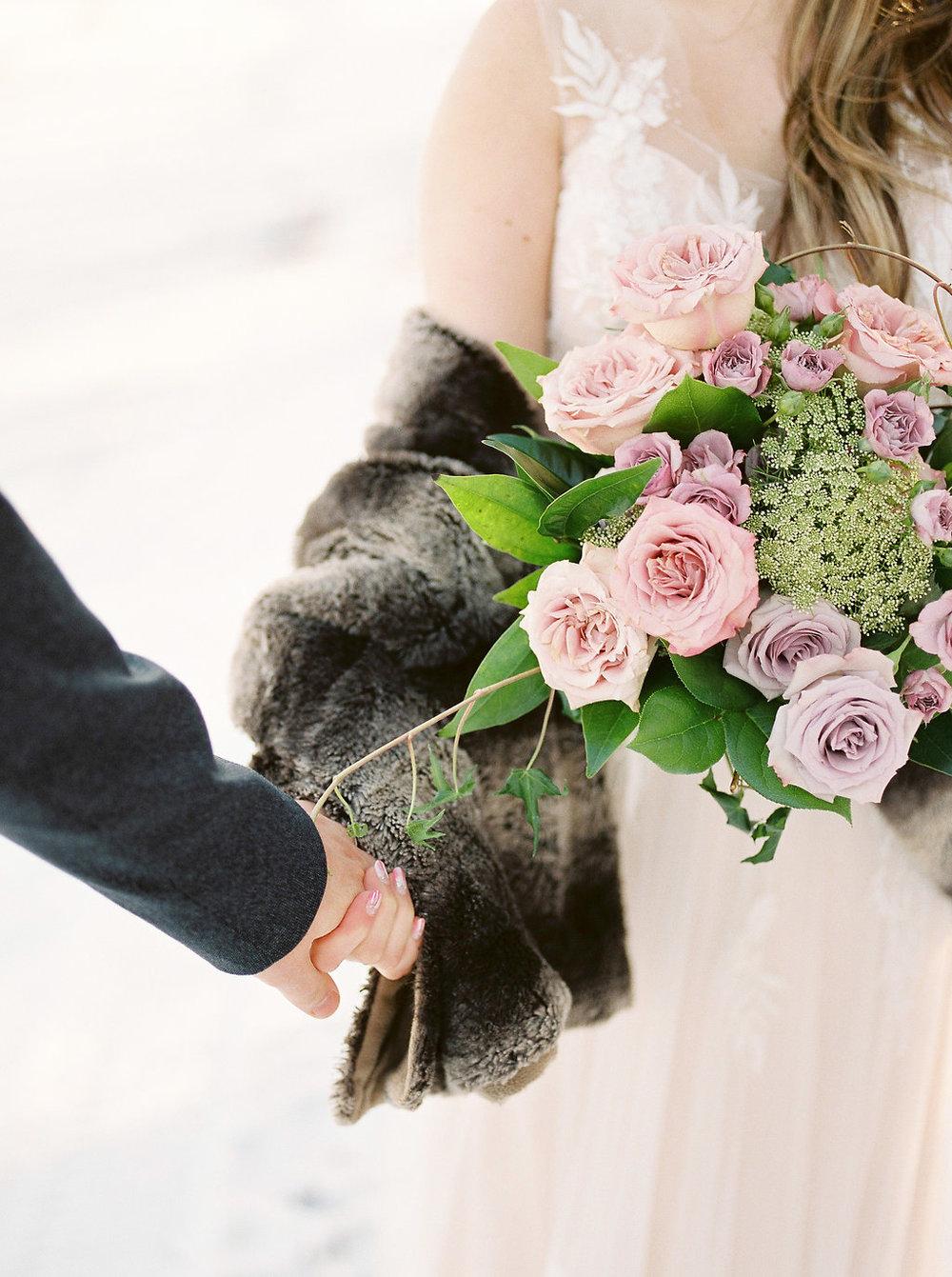 Winnipeg Winter Wedding - Wedding Florists Winnipeg