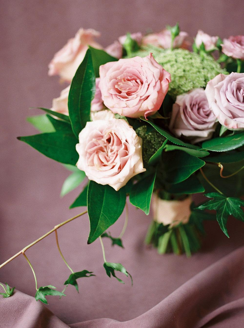 Romantic Winter Wedding Flowers - Wedding Florists Winnipeg