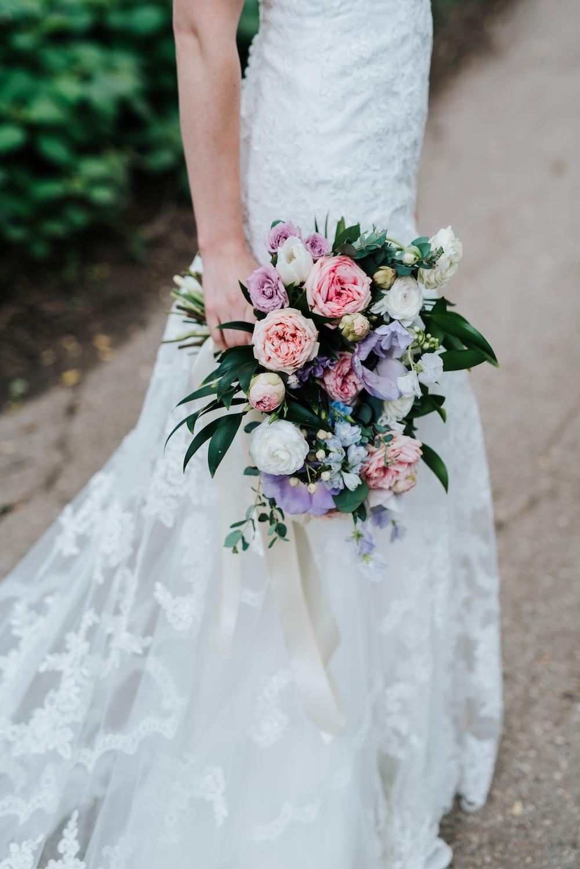 Pastel Garden Style Wedding Bouquet - Stone House Creative