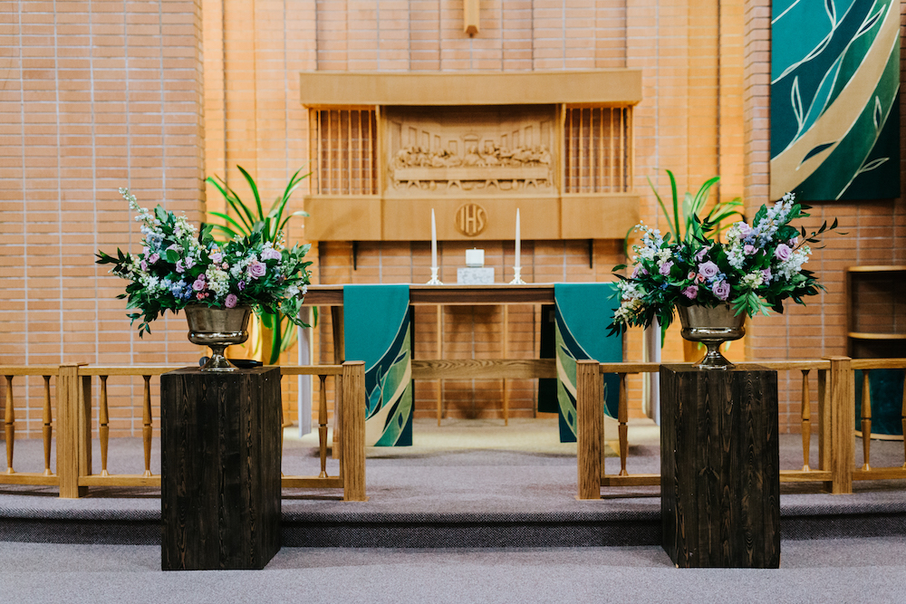 Winnipeg Church Weddings - Wedding Flowers Winnipeg