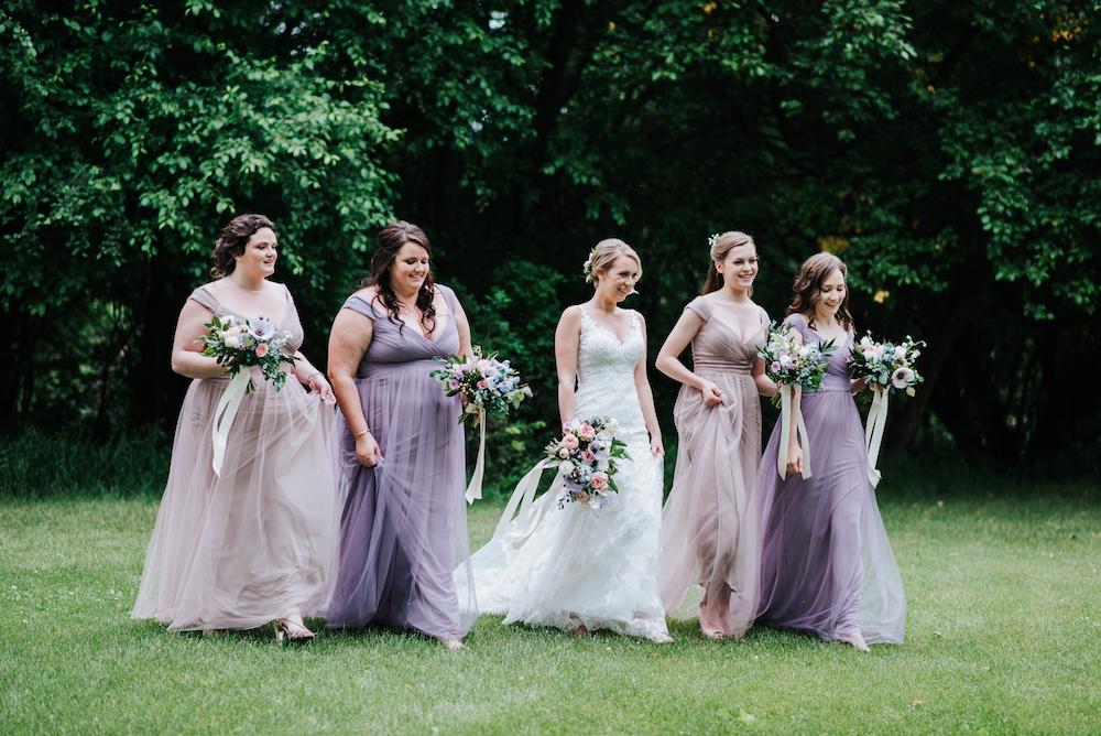 Pastel Wedding Flowers - Wedding Florists Winnipeg