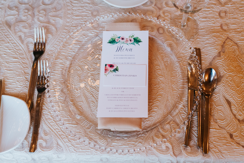 Pastel Wedding Inspiration - Floral Wedding Details