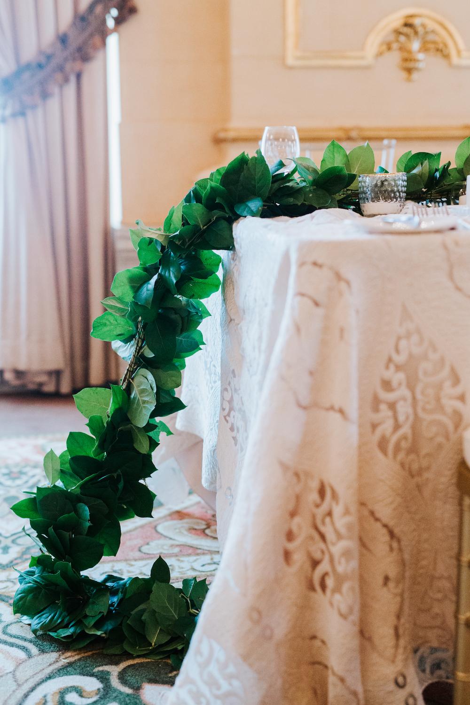 Greenery Garland Wedding Decor - Wedding Flowers Winnipeg