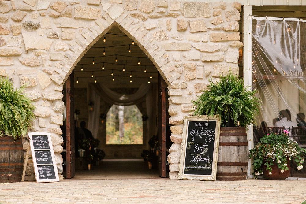 Wedding Ceremony at Cielo's Garden - Winnipeg Weddings