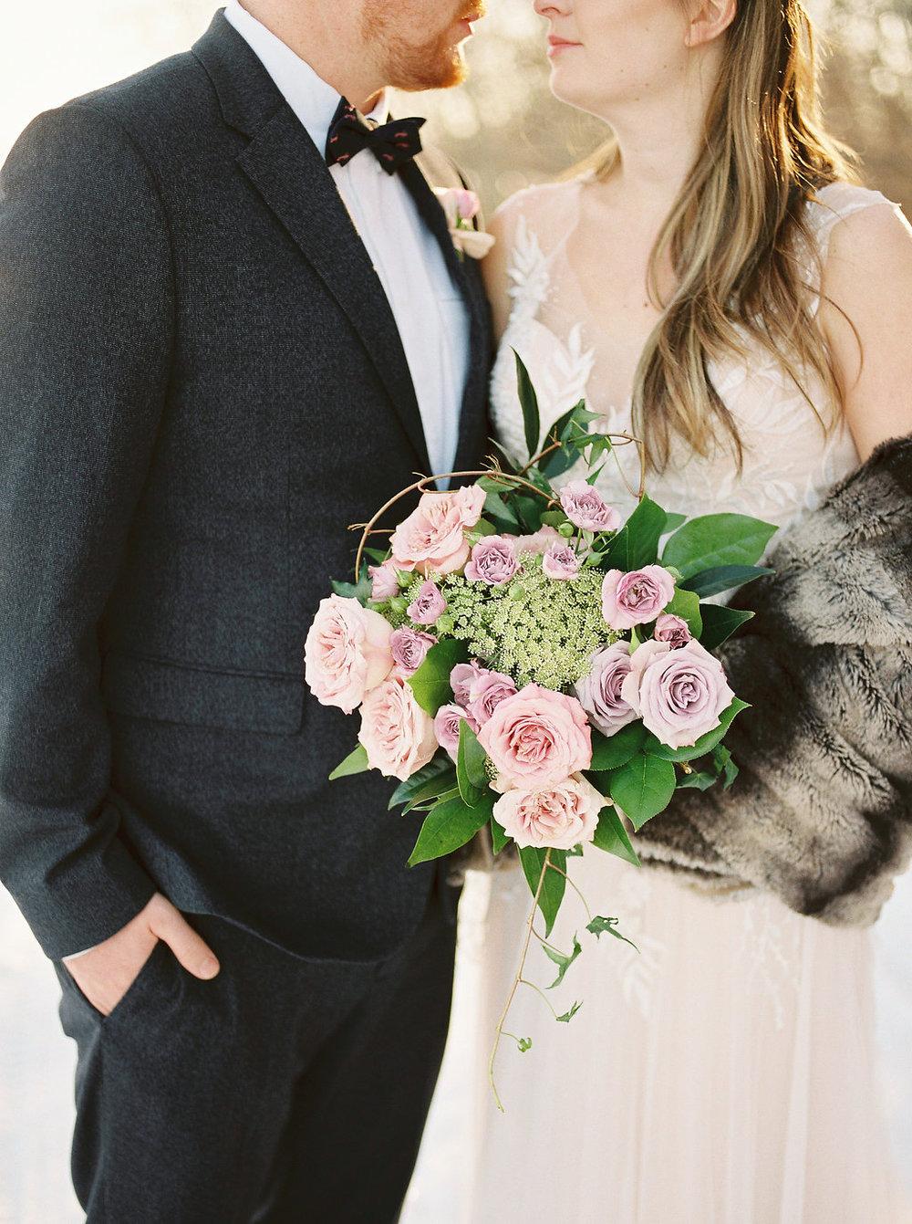 Winter Weddings in Winnipeg - Wedding Flowers Winnipeg