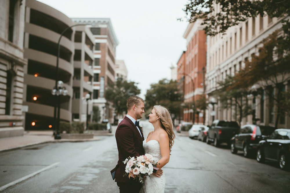 Exchange District Wedding Photos - Wedding Florists in Winnipeg
