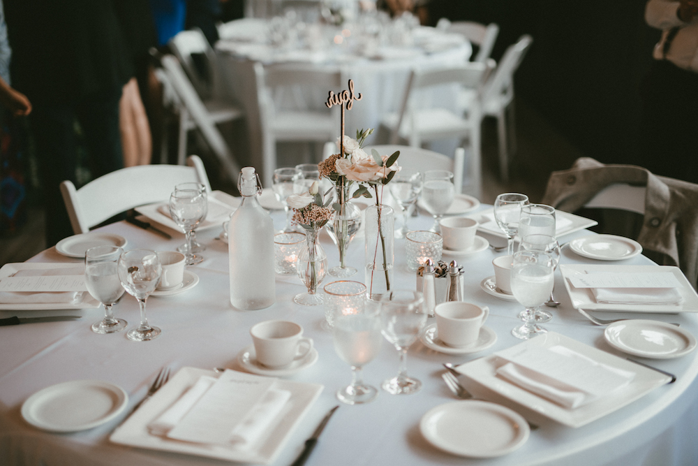 Blush and White Wedding Decor - Ashgrove Acres Wedding