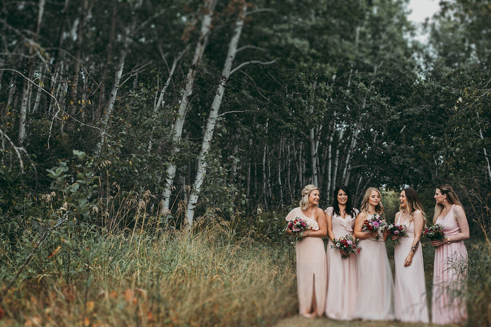 Blush Bridesmaid Dresses - Winnipeg Weddings