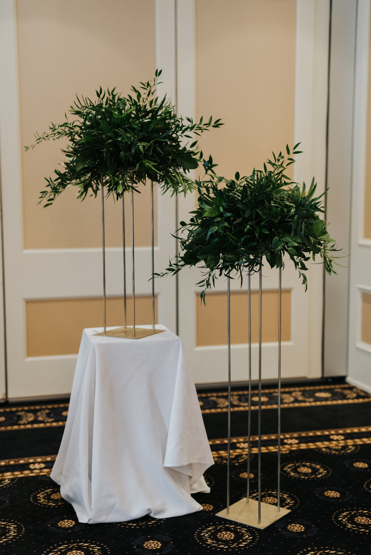 Greenery Wedding Decor - Winter Wedding Flower Ideas