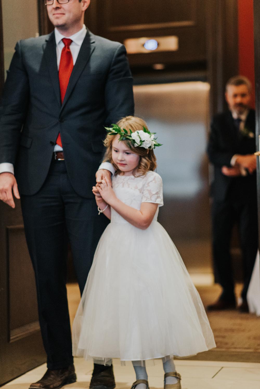 Flower Girl Halo - Wedding Flowers Winnipeg