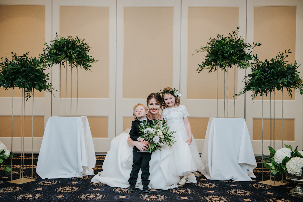 Weddings at Manitoba Club - Winnipeg Wedding Florists