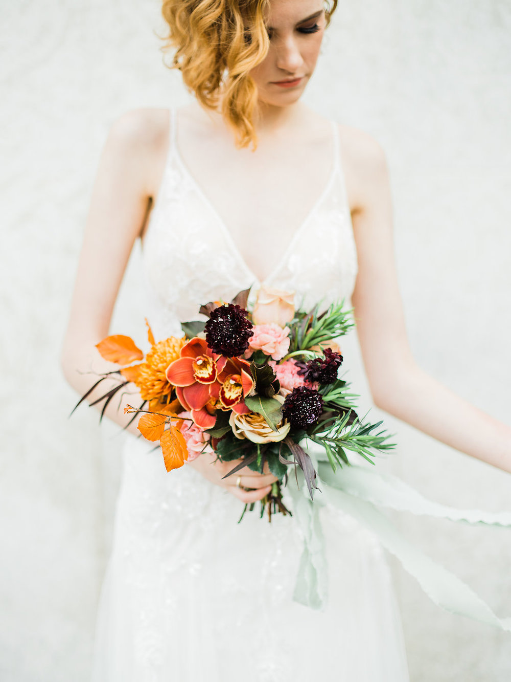 Small Sized Wedding Bouquet - Fall Wedding Flowers