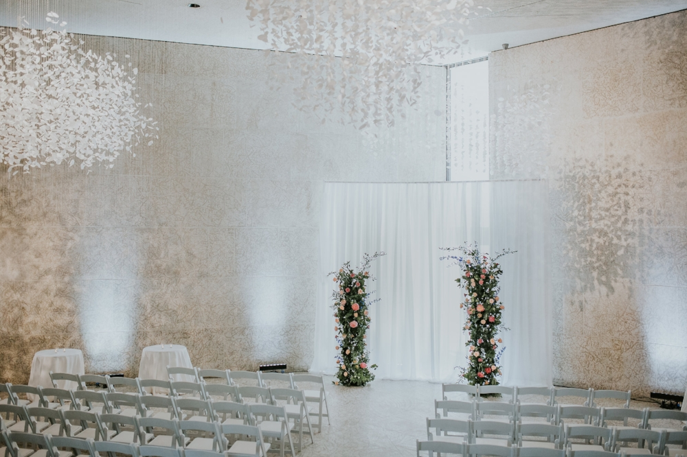 Indoor Wedding Ceremony Winnipeg - Winnipeg Wedding Florists