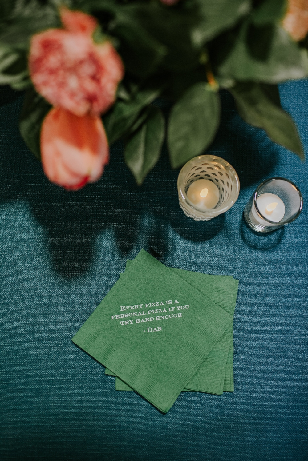 Personalized Cocktail Napkins - Weddings in Winnipeg
