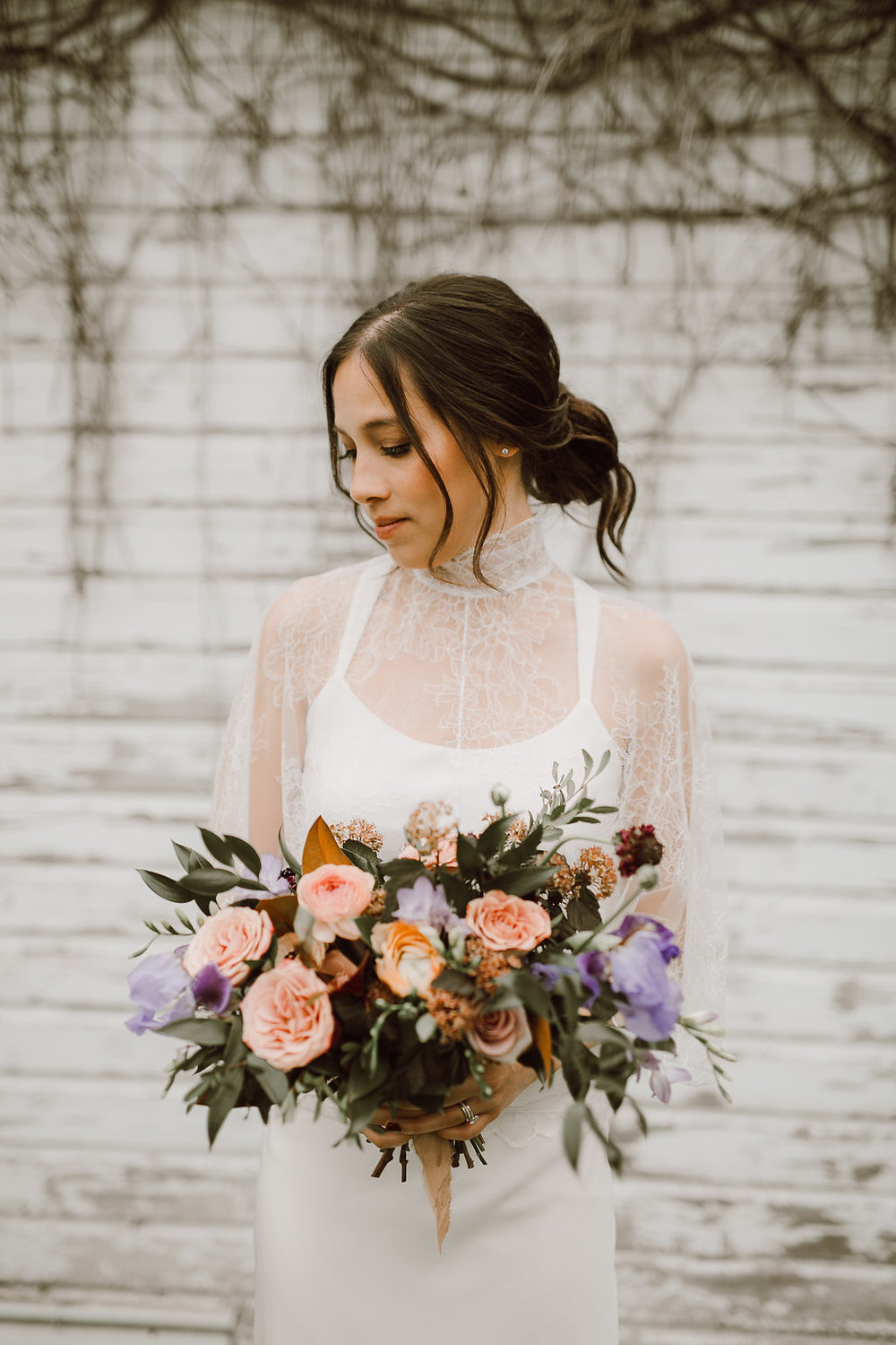 Garden Inspired Bridal Bouquet - Wedding Florists in Winnipeg