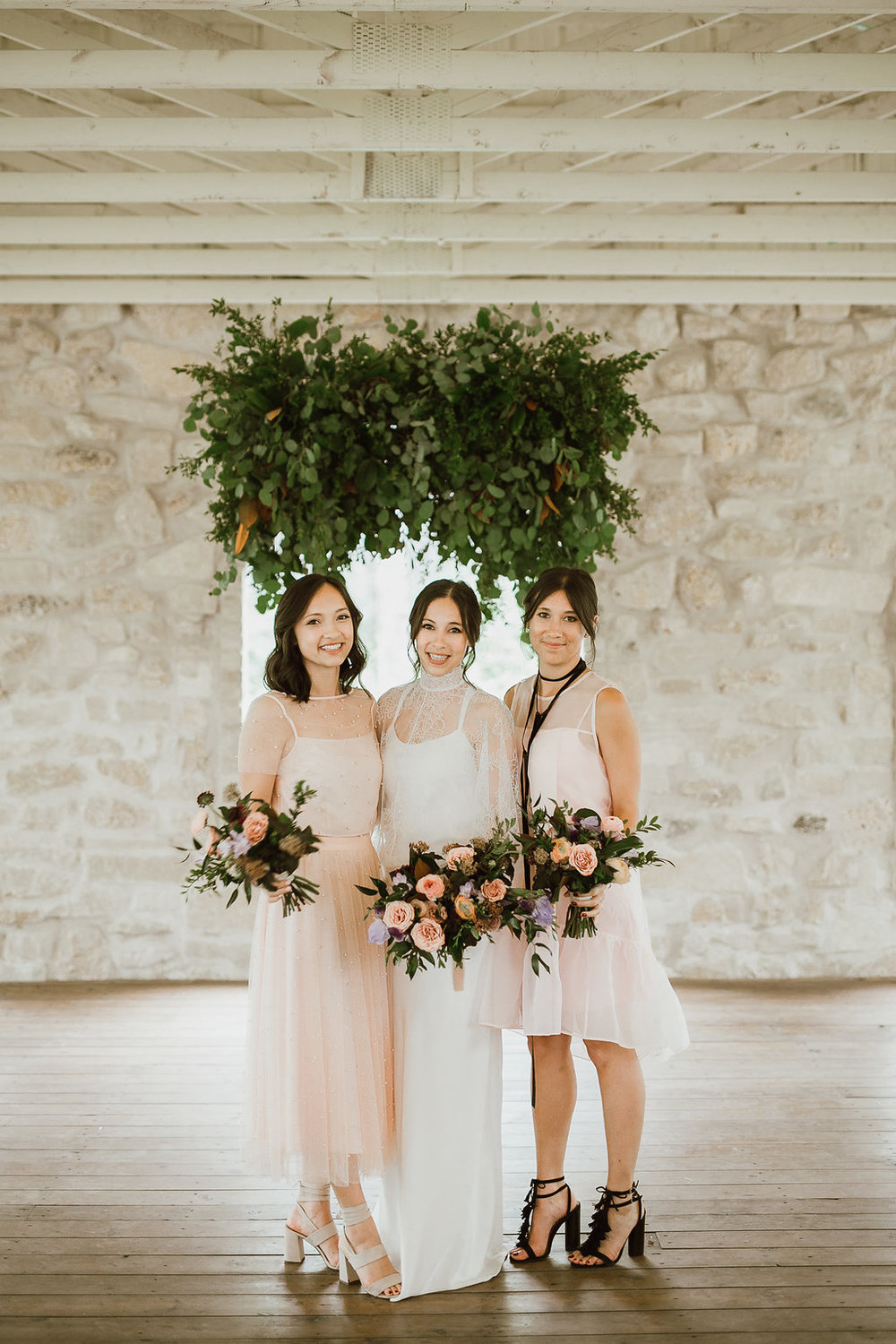 Blush and Mocha Wedding - Stylish Wedding Flowers