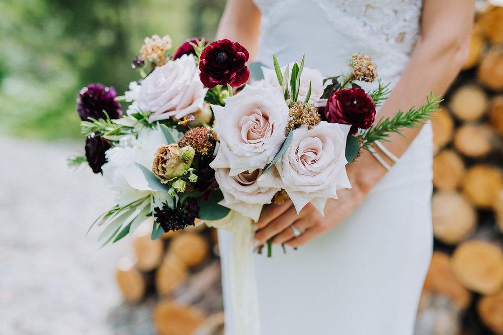 Garden Inspired Wedding Bouquet - Wedding Flowers Winnipeg