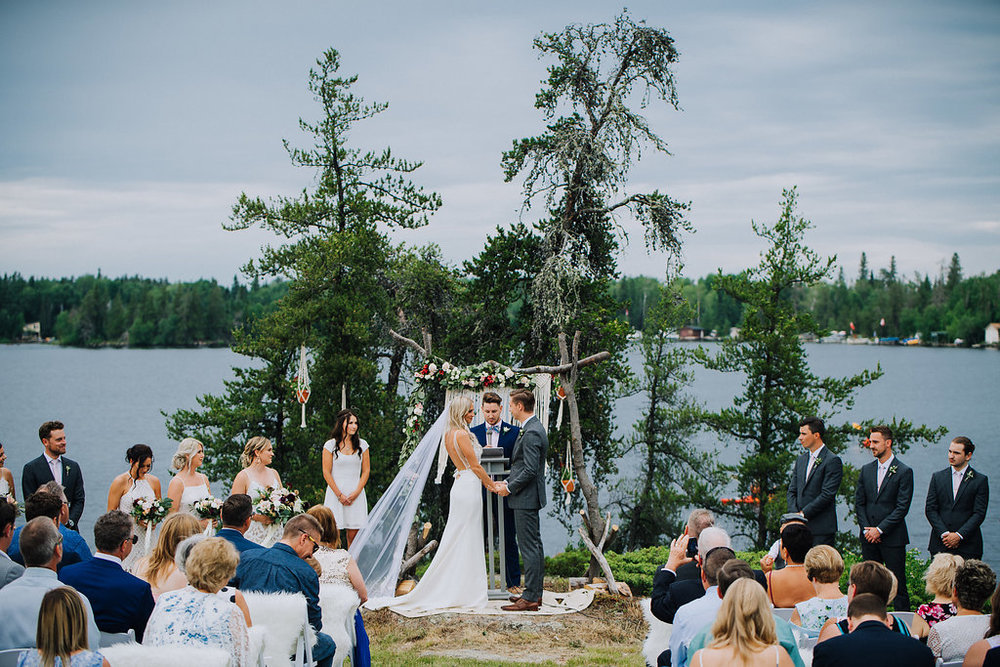 Lakefront Wedding Ceremony - LOTW Weddings