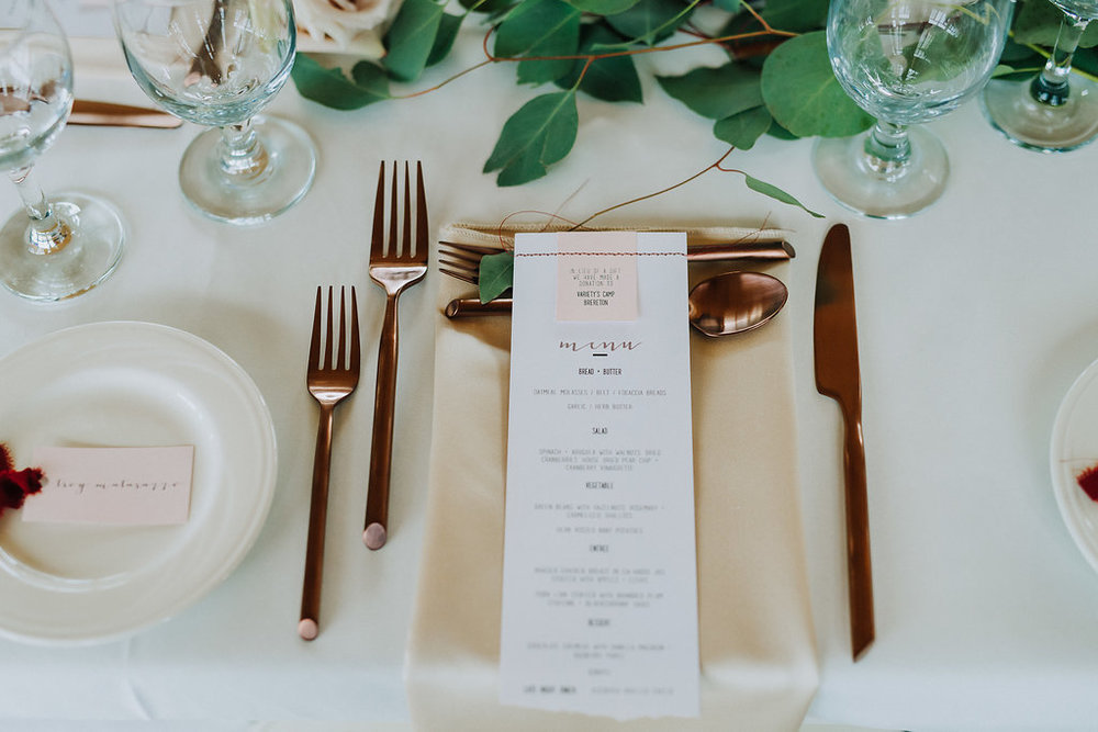 Copper Wedding Inspiration - Blush and Copper Wedding