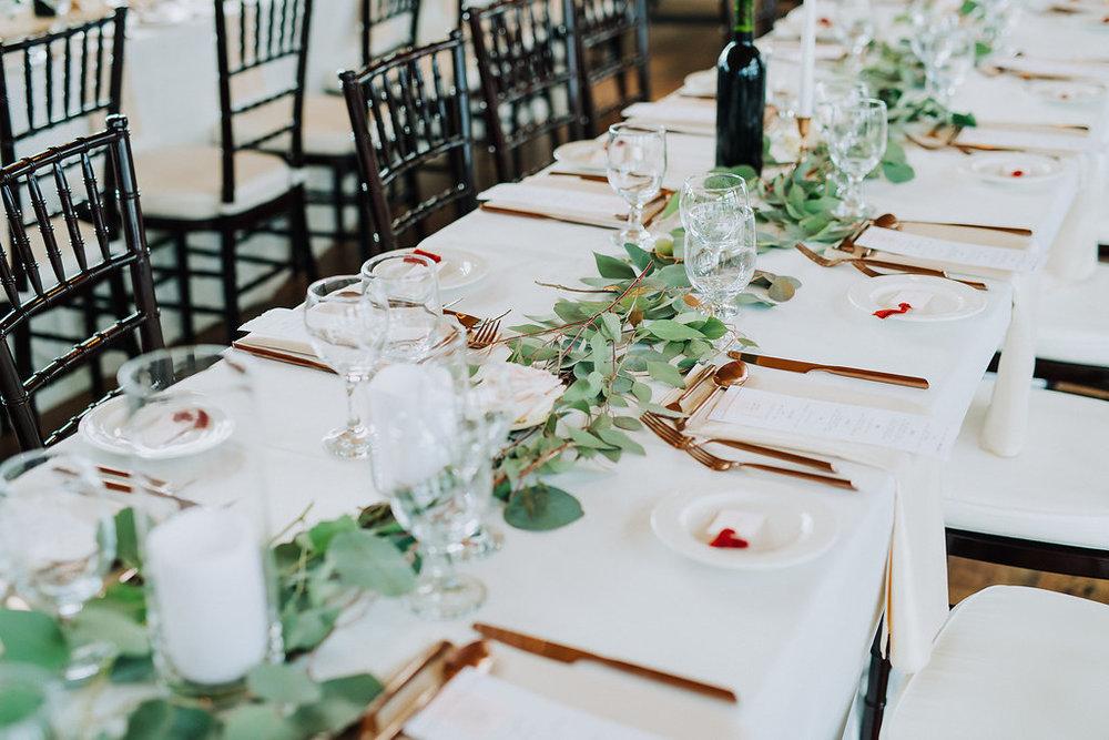 Garland Wedding Decor- Winnipeg Wedding Florist