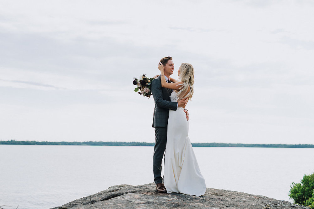 Lake of the Woods Wedding - Wedding Florists in Kenora