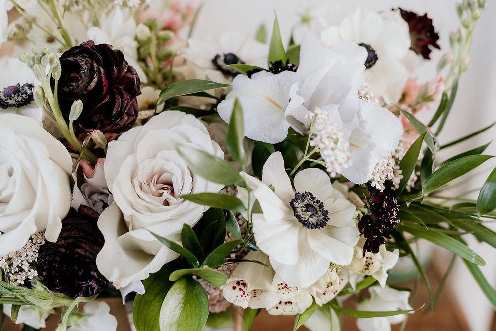 Anemone Bridal Bouquet - Wedding Florists in Winnipeg
