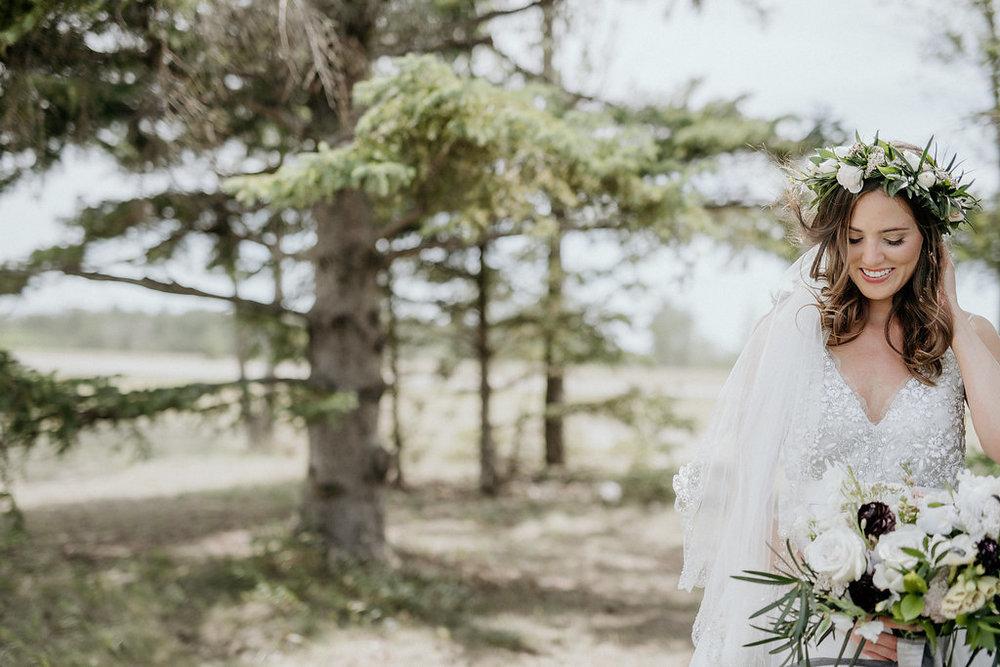 Romantic Wedding Flowers - Stone House Creative