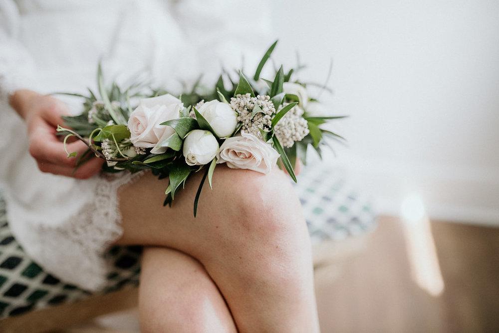 Floral Crown for Wedding - Winnipeg Weddings