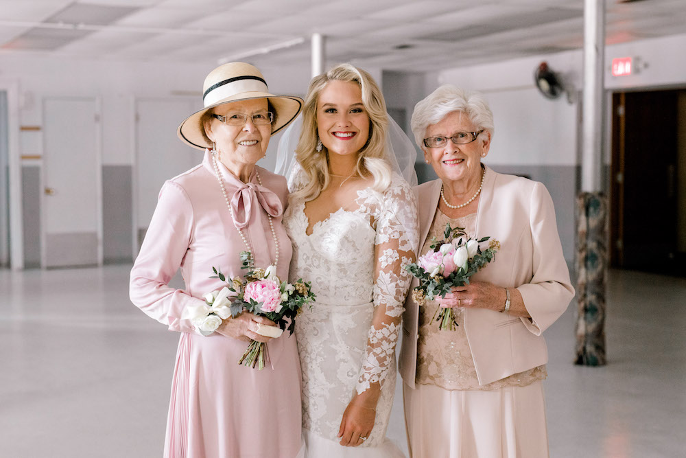 Flower Girl Grandmas - Winnipeg Wedding Florists